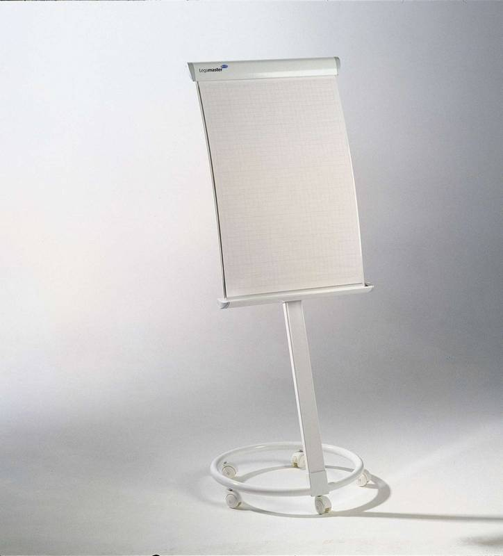 Flipchart TAURUS 102x67 cm, mobilní, BÍLÝ
