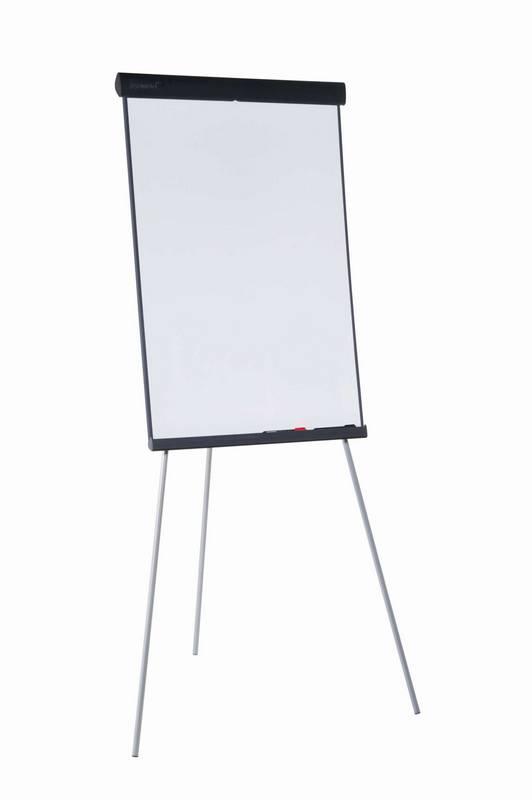 Flipchart ECONOMY Triangle trojnožka, 105x68 cm, lakovaný