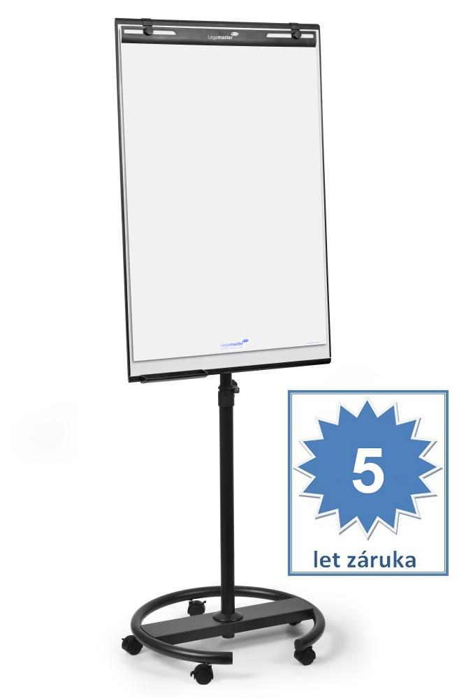 Flipchart ECONOMY Triangle mobilní, 105x68 cm, lakovaný, bez ramen