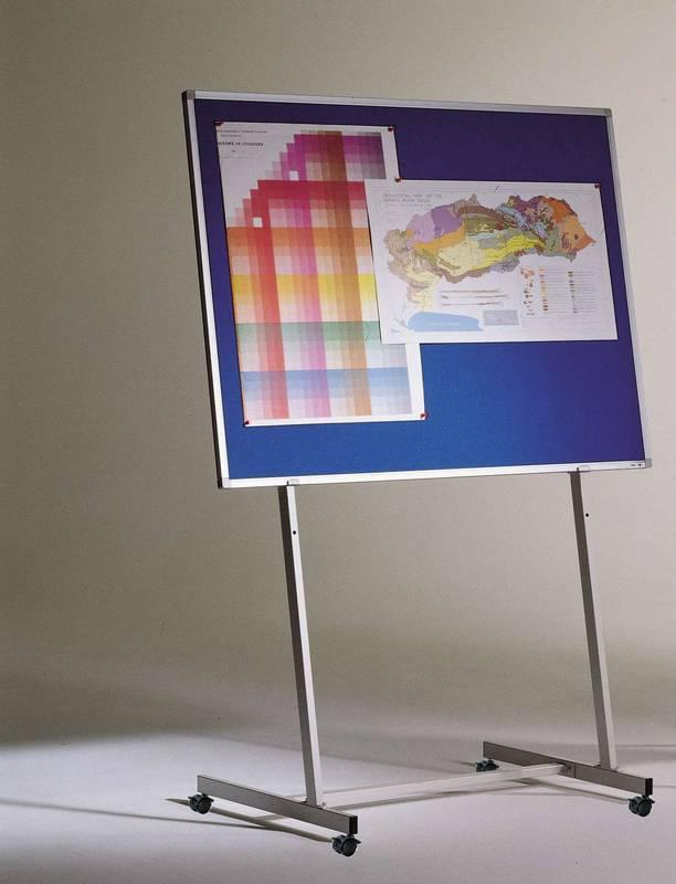 Stojan na tabule, 70 cm šíře, mobilní
