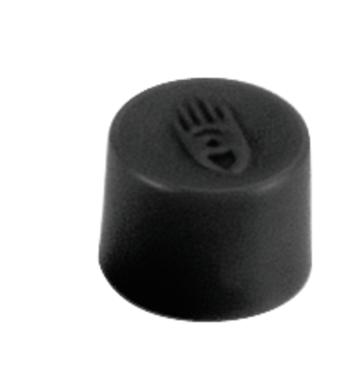 Magnety, průměr 10 mm, mag. síla 150g ,sada 10 ks, ČERNÉ