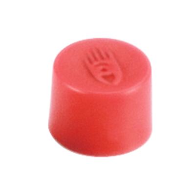 Magnety, průměr 10 mm, mag. síla 150g, sada 10 ks, ČERVENÉ