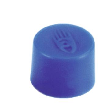 Magnety, průměr 10 mm, mag. síla 150g, sada 10 ks, MODRÉ