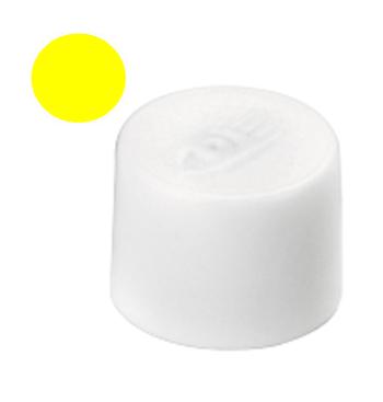 Magnety, průměr 10 mm, mag. síla 150g, sada 10 ks ŽLUTÉ