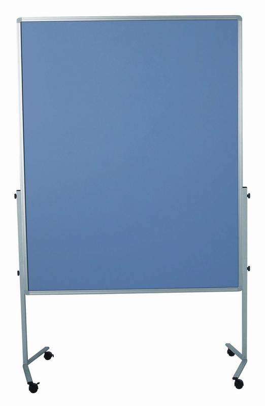 PREMIUM mobilní tabule 150x120 cm plstěná modro-šedá