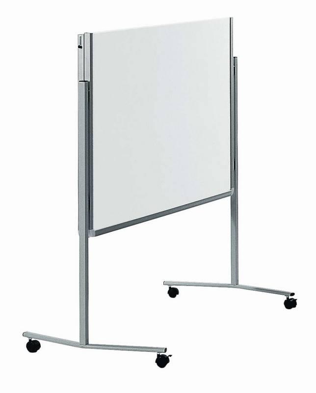 PREMIUM skládací mobilní tabule 150x120 cm bílá/pěna
