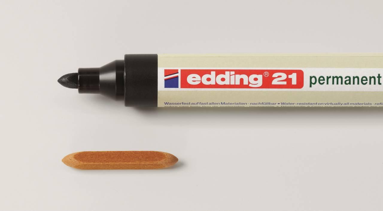Náhradní hroty pro edding 21 permanentní eco popisovač, sada 10 ks