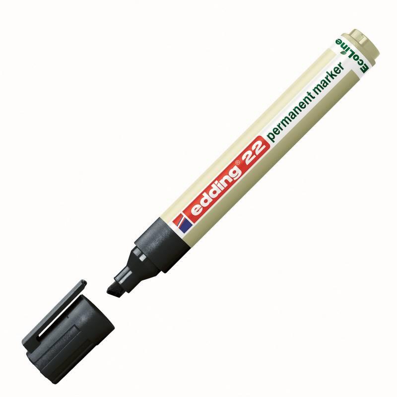 edding 22 permanentní eco popisovač, seříznutý hrot 1-5 mm