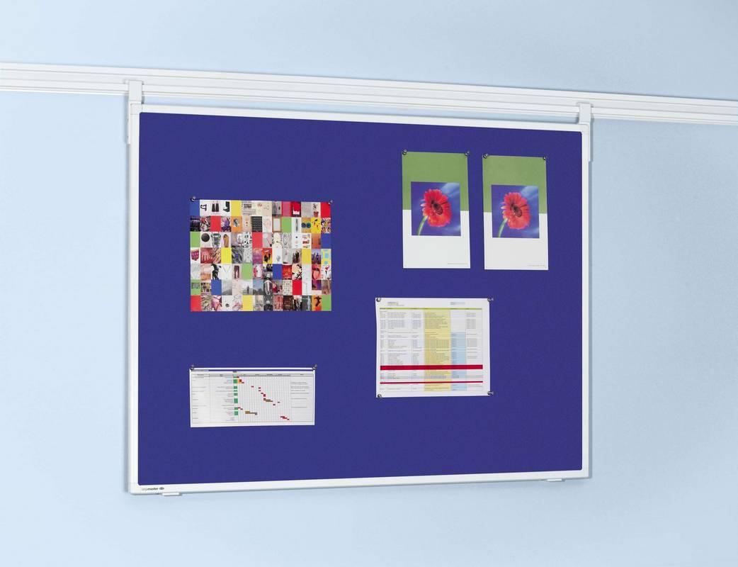 LL PROFESSIONAL plstěná tabule 90x120 cm modrá
