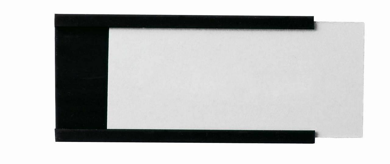 Magnetické drážky na štítky 30x90 mm, 24 ks