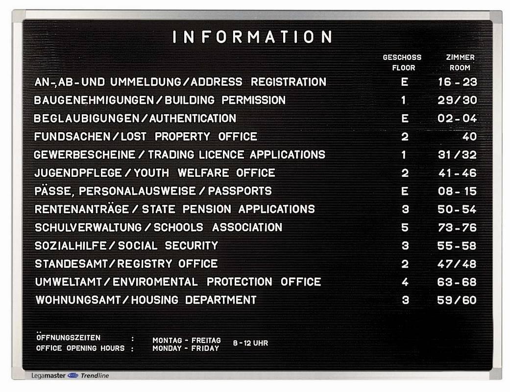 PREMIUM informační tabule 40x30 cm