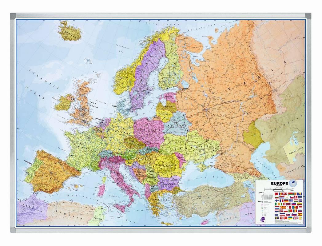 PROFESSIONAL mapa Evropy 102x141 cm