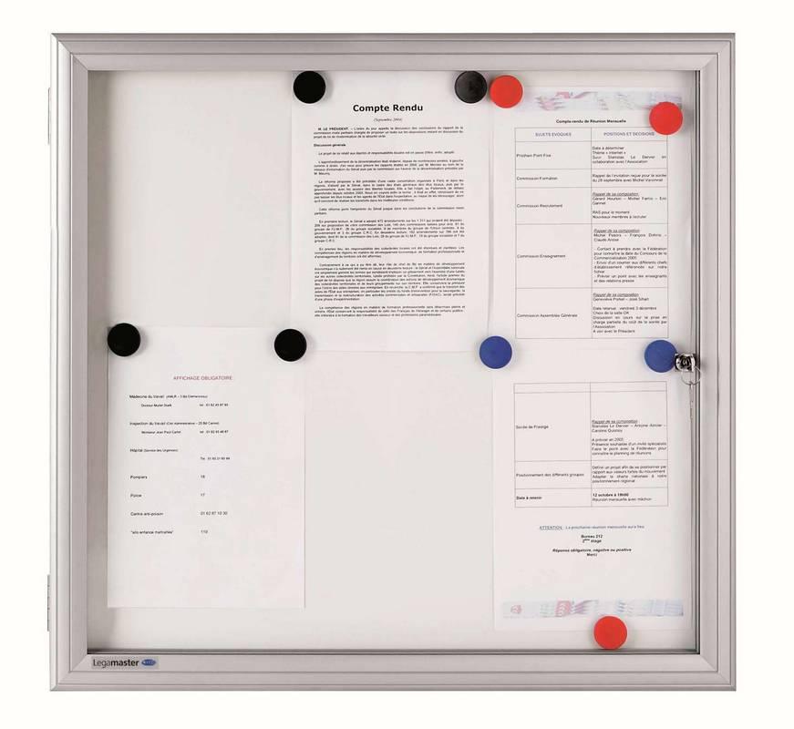 PREMIUM venkovní vitrína/bílá tabule 98,9 x 73,0  cm