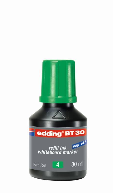 Náhradní inkoust edding BT30 (30 ml) na tabule, s kapátkem - ZELENÝ