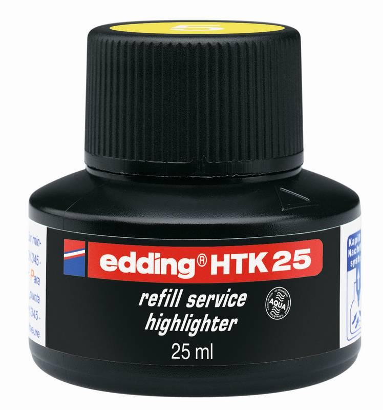 Náhradní inkoust edding HTK25 (25ml) pro eco zvýrazňovače