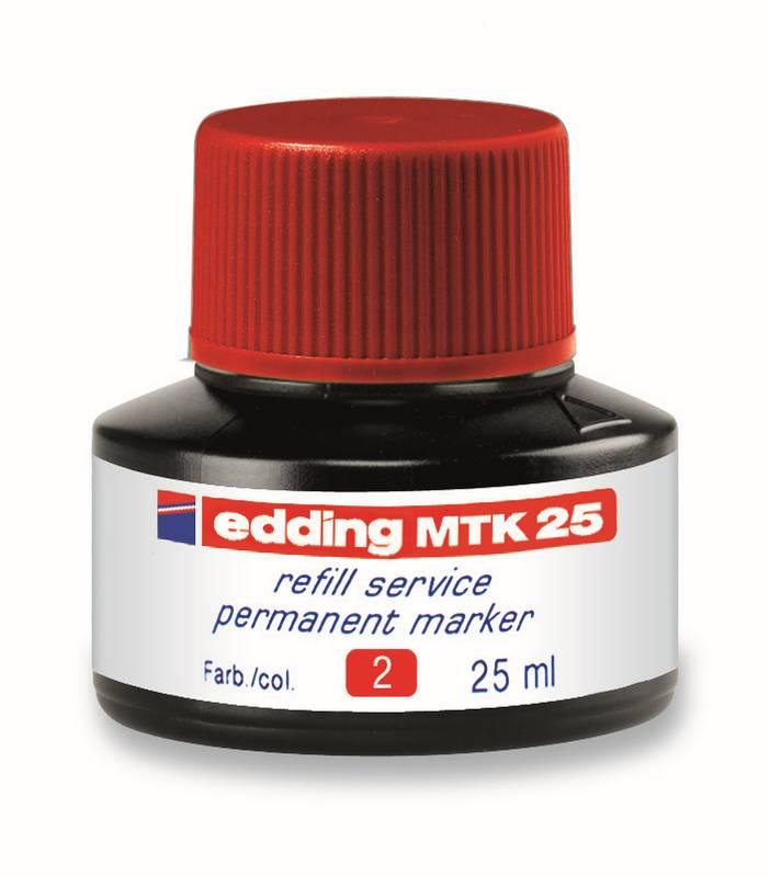 Náhradní inkoust edding MTK25 (25 ml) permanentní,  kapilární
