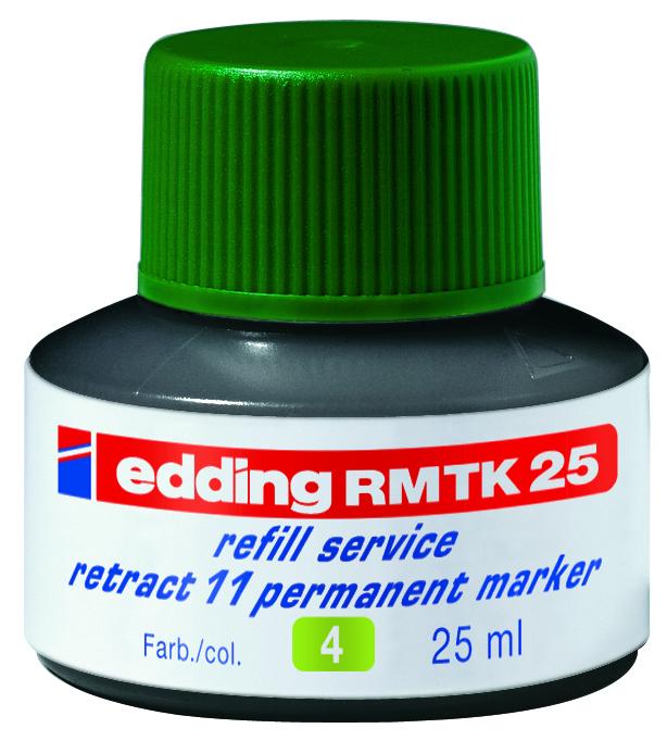 Náhradní inkoust edding RMTK25 (25 ml) permanentní, kapilární