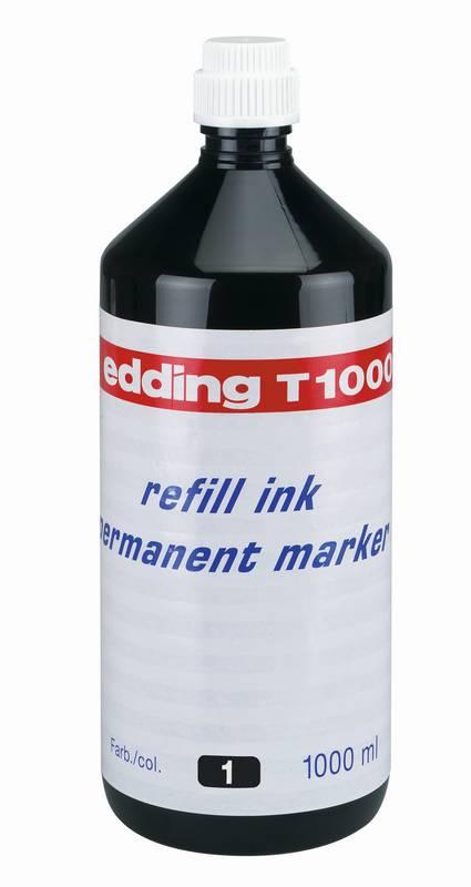 Náhradní inkoust edding T1000 (1000 ml) permanentní