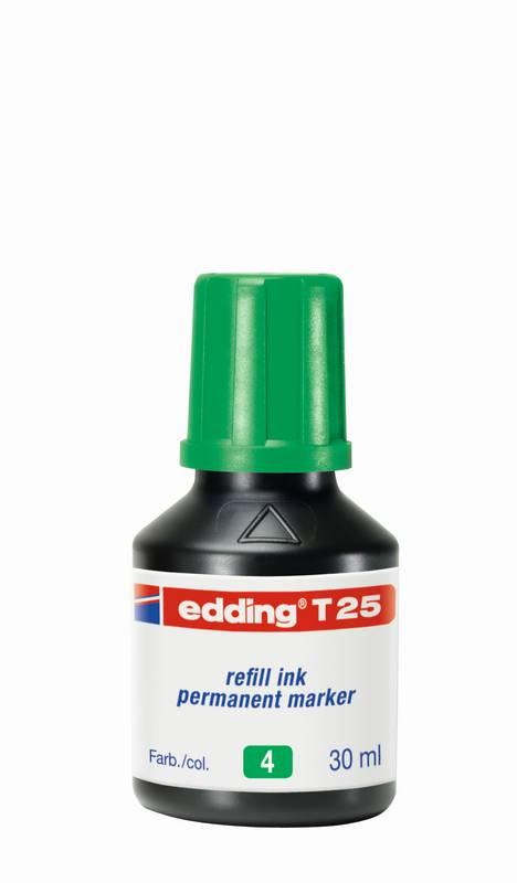 Náhradní inkoust edding T25 (30ml) permanentní, s kapátkem
