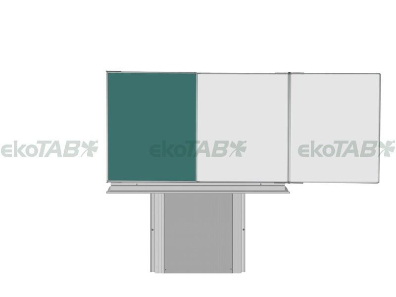SESTAVA - Triptych K ZBBBZ 120x200/400 cm + Stojan + Polička