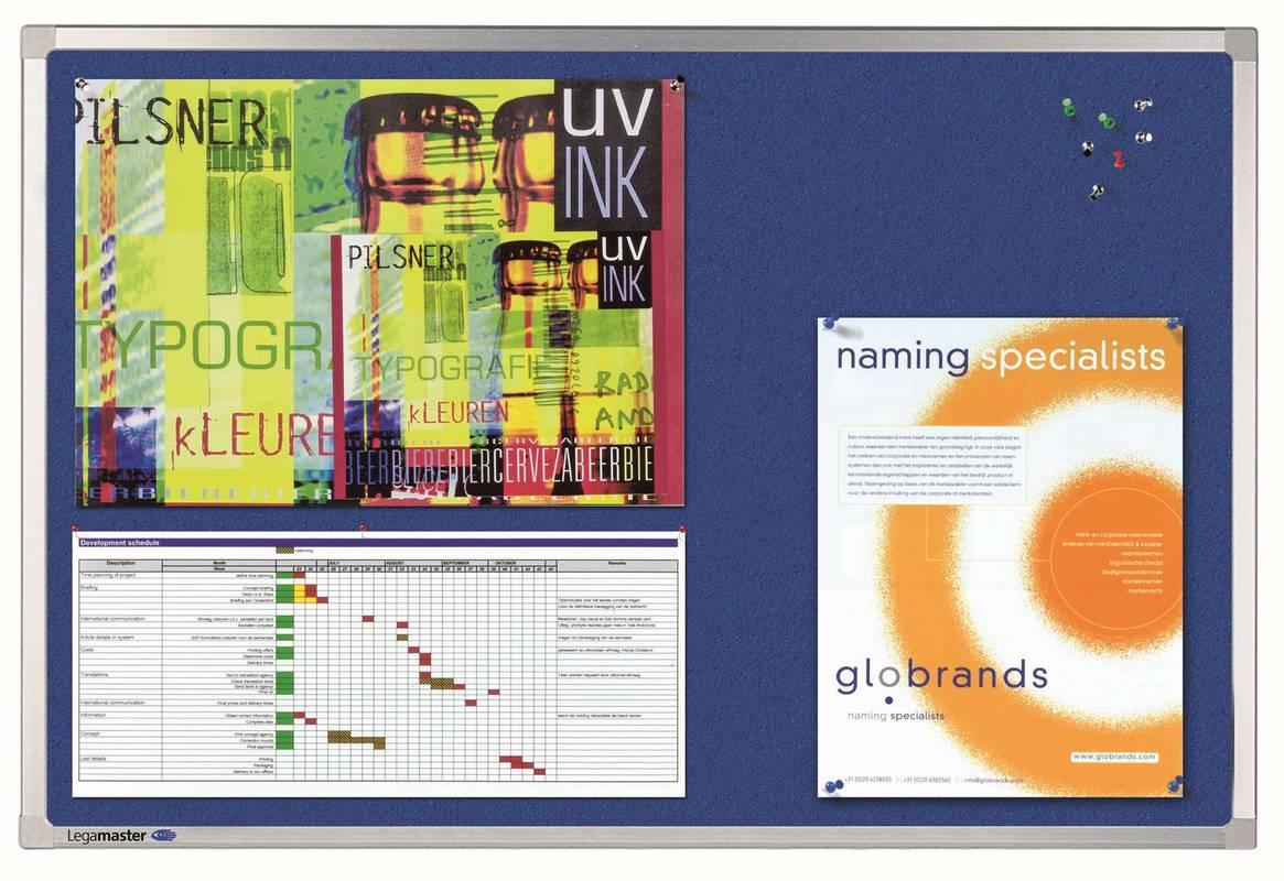 PROFESSIONAL plstěná tabule 60x90 modrá