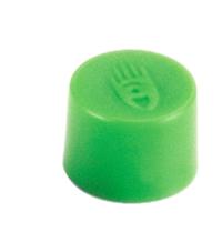 Magnety, průměr 10 mm, mag. síla 150g, sada 10 ks ZELENÉ