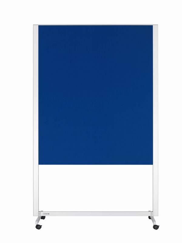 PROFESSIONAL mobilní workshop tabule 150x120 cm tmavě modrá