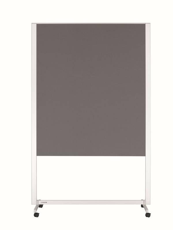 PROFESSIONAL mobilní workshop tabule 150x120 cm šedá
