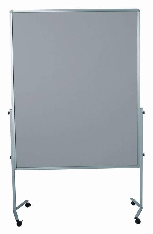 PREMIUM mobilní tabule 150x120 cm plstěná šedá