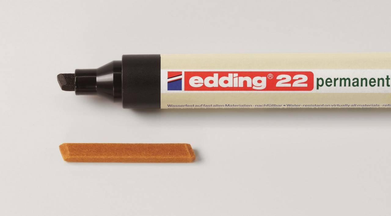 Náhradní hroty pro edding 22 permanentní eco popisovač, sada 10 ks