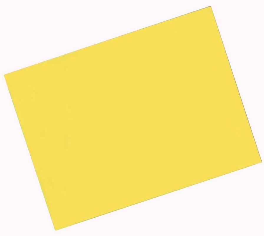 Magnetický arch 240x320 mm, žlutý