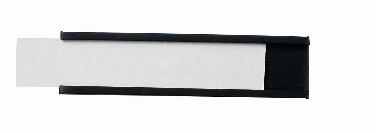 Magnetické drážky na štítky 15x60 mm, 63 ks