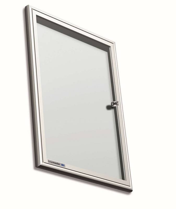 PREMIUM vnitřní vitrína/bílá tabule 35,3 x 47,6 cm (2*A4, otev.dv.)