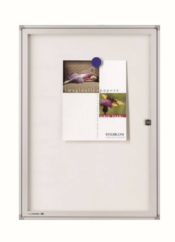 ECONOMY vitrína/bílá tabule 33,8 x 25,1 cm