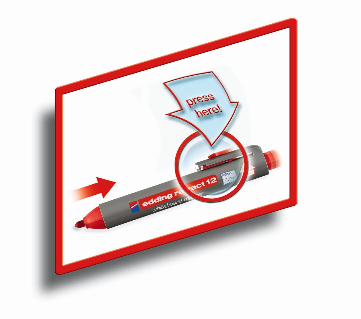 edding retract 11 permanentní popisovač, kulatý hrot 1.5-3 mm