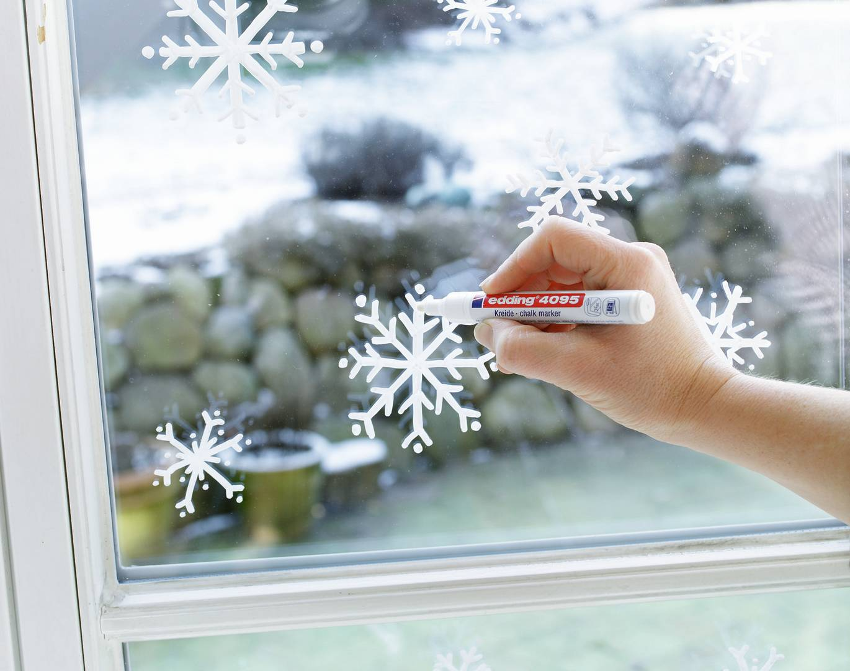 edding 4095 popisovač na okna, kulatý hrot 2-3 mm