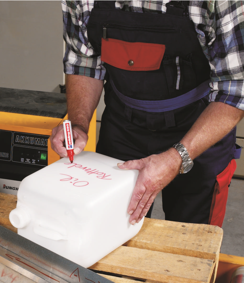 edding 550 permanentní popisovač, kulatý hrot 3-4  mm