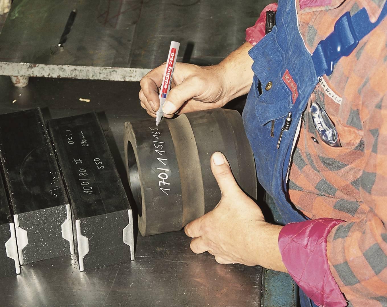 edding 750 lakový popisovač, kulatý hrot 2-4 mm, sada 10 ks