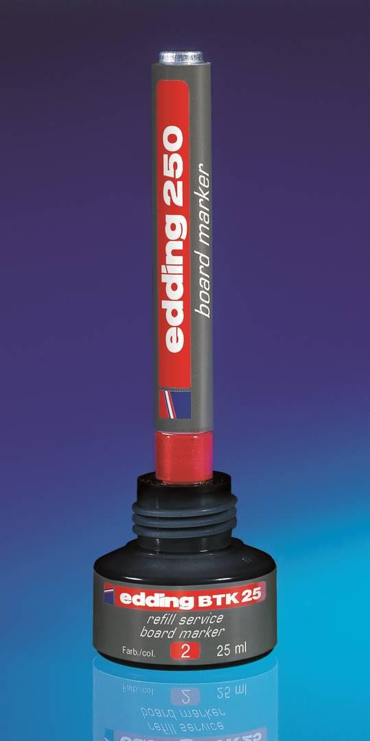 Náhradní inkoust edding BTK25 (25 ml) na tabule, kapilární - ZELENÝ