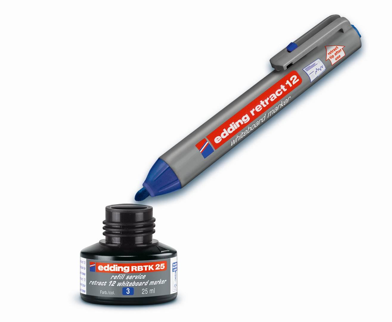 Náhradní inkoust edding RBTK25 (25 ml) na tabule, kapilární