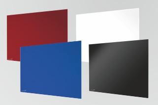 GLASSBOARD barevná skleněná tabule 100x200cm - BÍLÁ