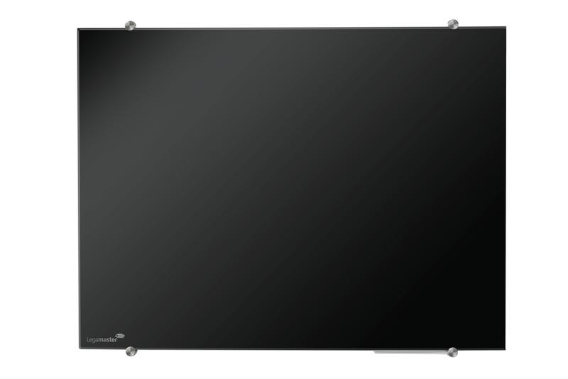 GLASSBOARD barevná skleněná tabule 90x120cm - ČERNÁ