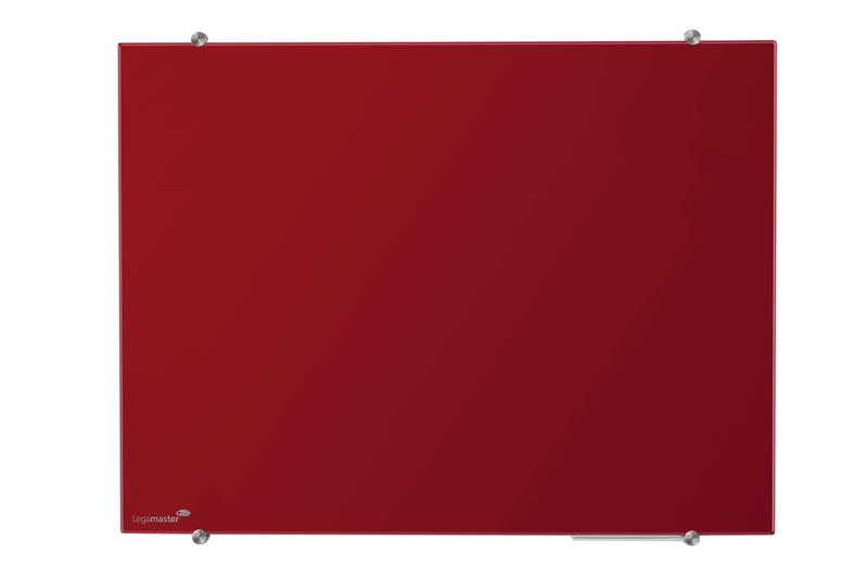 GLASSBOARD barevná skleněná tabule 100x150cm - ČERVENÁ