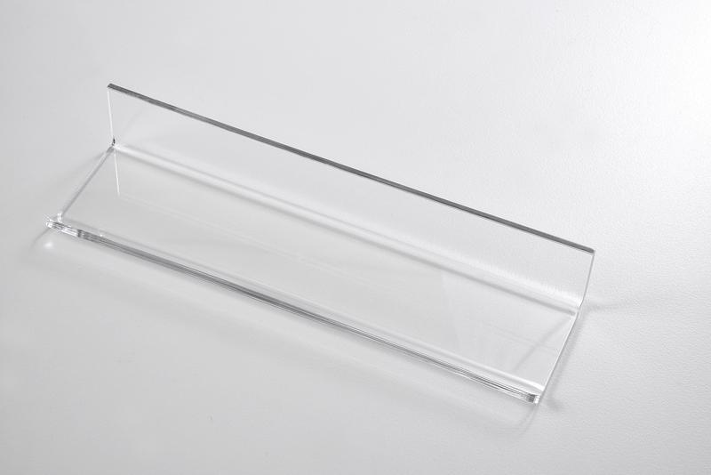 Odkládací lišta pro skleněné tabule GLASSBOARD 220 mm