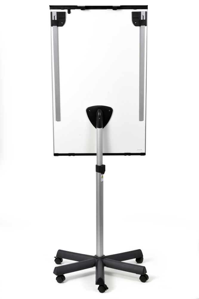 Flipchart PROFESSIONAL Triangle mobilní, keramický 105x68 cm, 2  ramena
