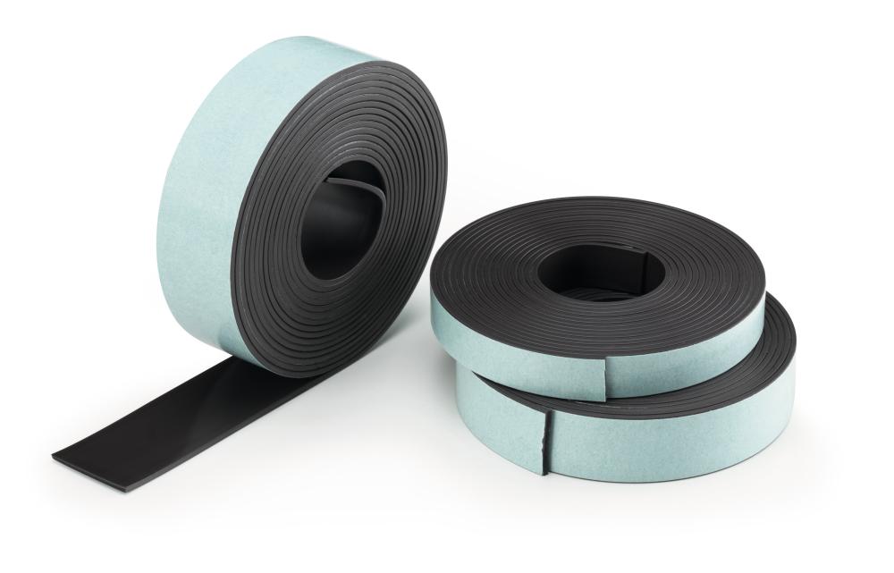 Samolepící magnetická páska, 19 mm x 3 m, hnědá