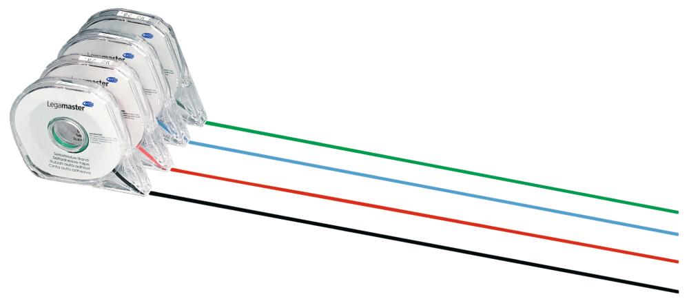 Rozdělovací páska 2,5 mm x 16 m, samolepící, ČERVENÁ