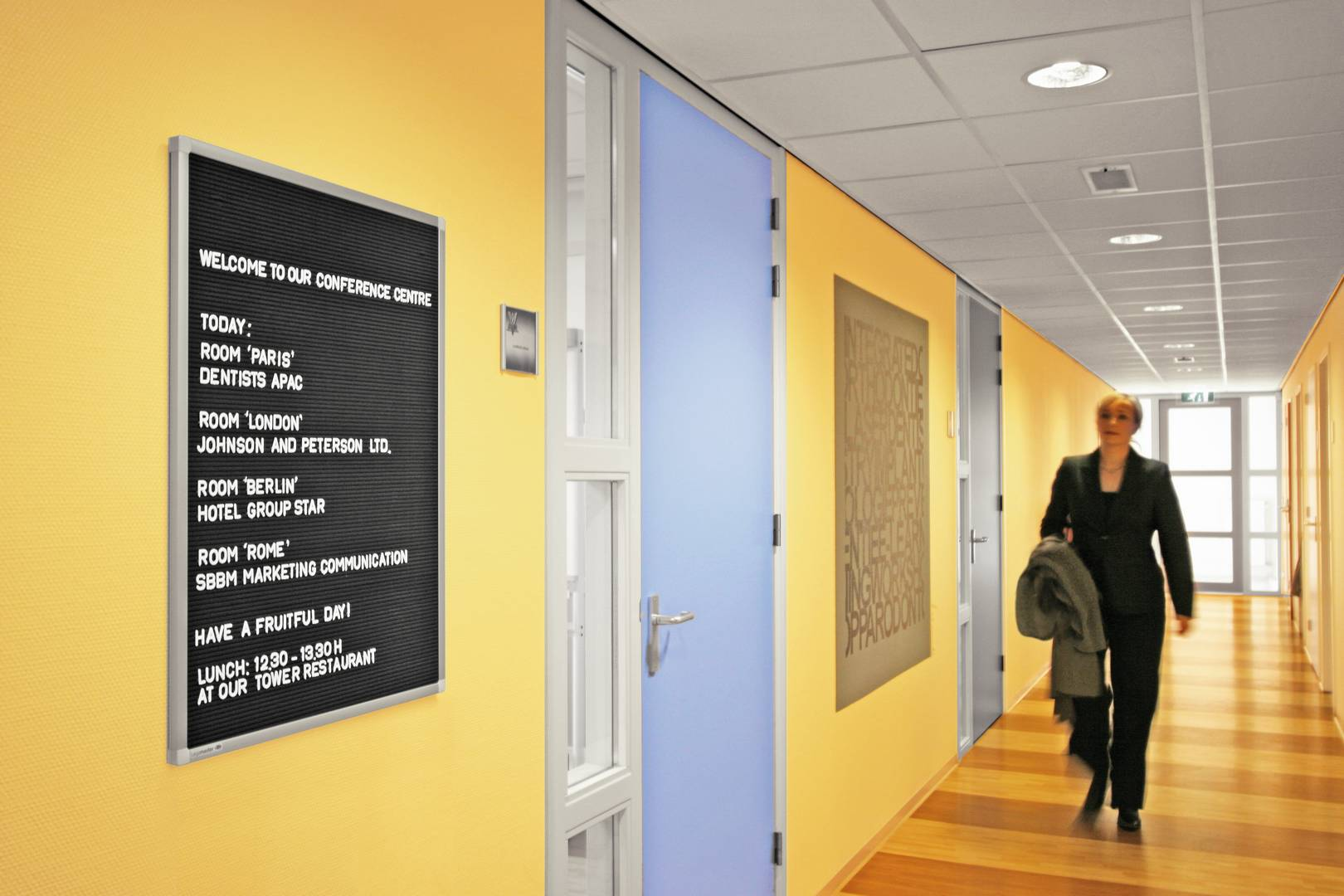 PREMIUM informační tabule 80x60 cm