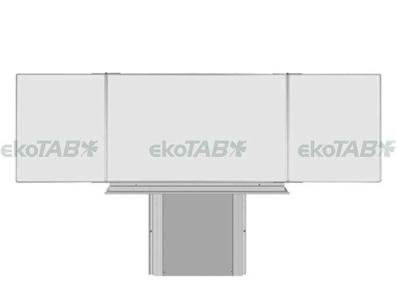 SESTAVA - Triptych K BBBBB 120x200/400 cm + Stojan + Polička