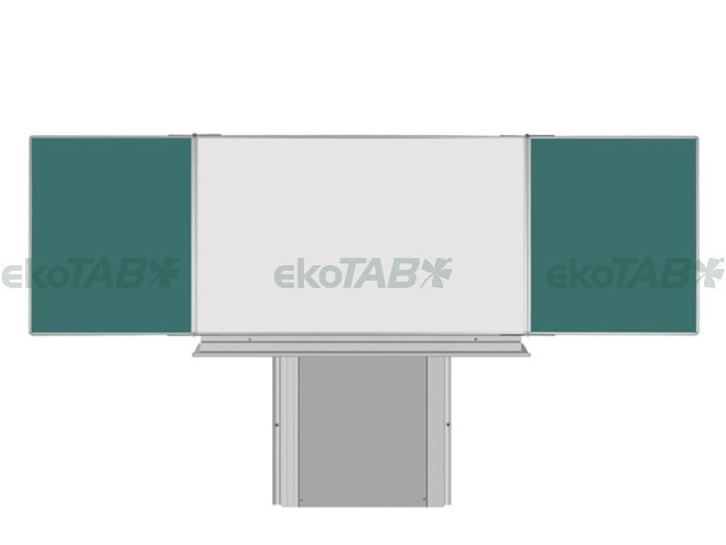 SESTAVA - Triptych K ZZBZZ 120x200/400 cm + Stojan + Polička